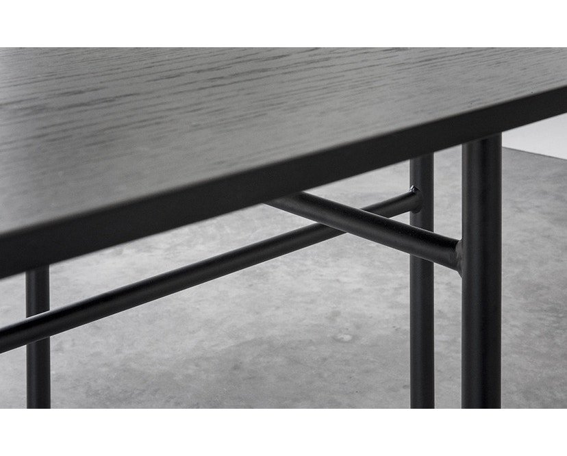 Menu - Snaregade Tisch - schwarz - rund 120 cm - 9