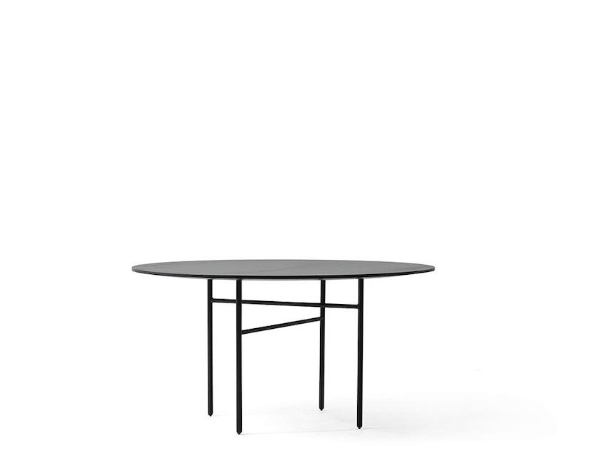 Menu - Snaregade Tisch - schwarz - rund 120 cm - 1