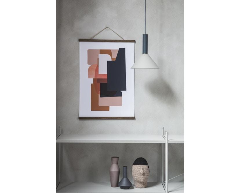 ferm LIVING - Collect Lighting - Socket  - niedrig - rotbraun - rotbraun - 8
