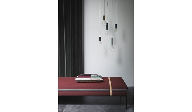 ferm LIVING - Collect Lighting - Socket  - niedrig - schwarz - 6