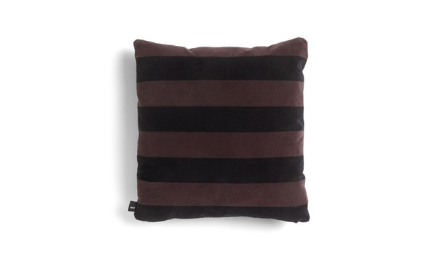HAY - Soft Stripe Kissen - Burgundy - 1