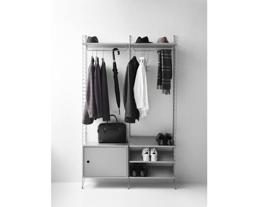 Flur Garderobensystem mit Schuhschrank Bundle S