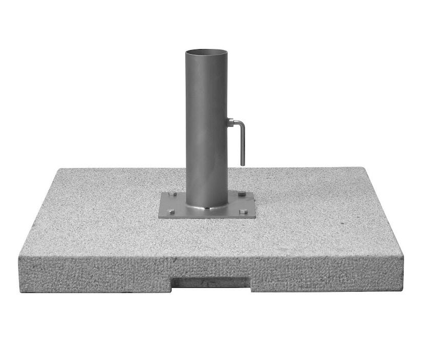 Tribù - Sonnenschirmfuß aus Granit - grau - 1