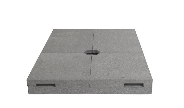 Tribù - Sonnenschirmfuß Vitino Pendulum heavy duty - grau - 2
