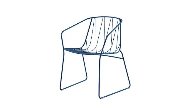 SP01 - Chee Armlehnenstuhl - Blue(RAL 5001) - 1