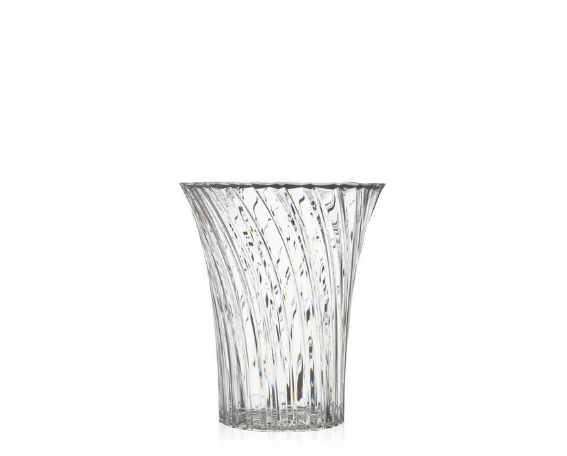 Kartell - Sparkle Hocker - glasklar - 4