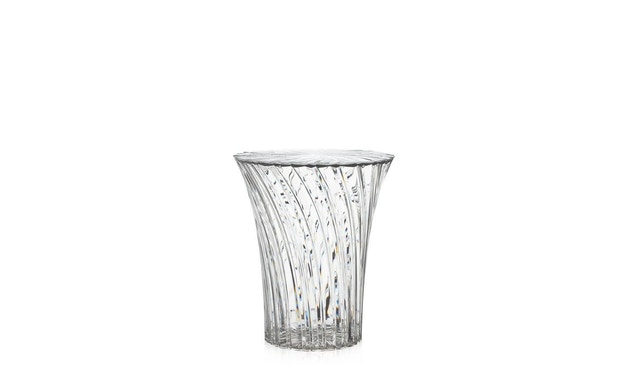 Kartell - Sparkle Hocker - glasklar - 5