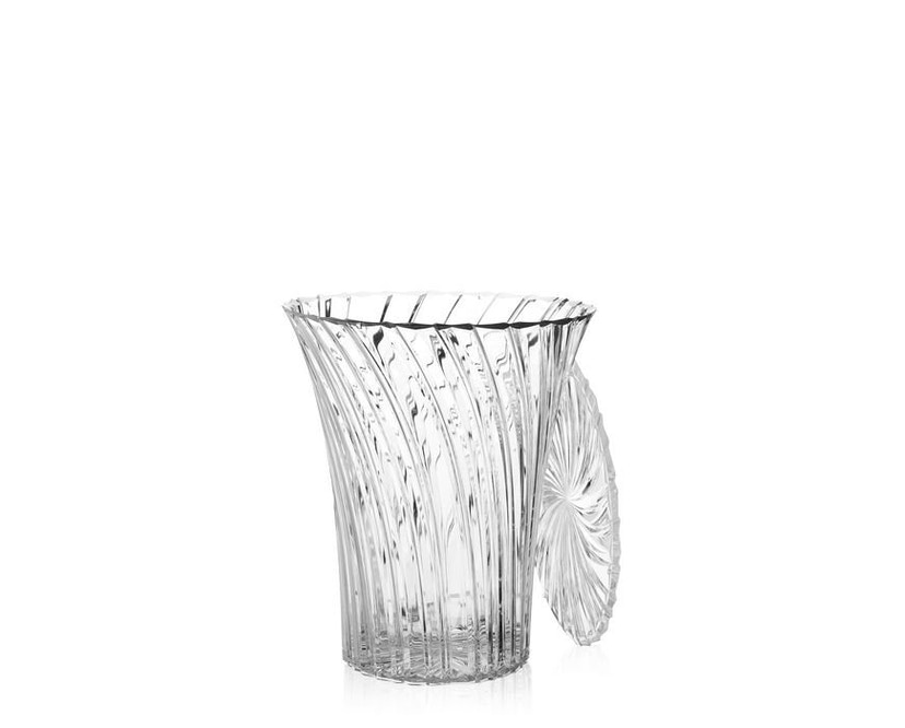 Kartell - Sparkle Hocker - glasklar - 6
