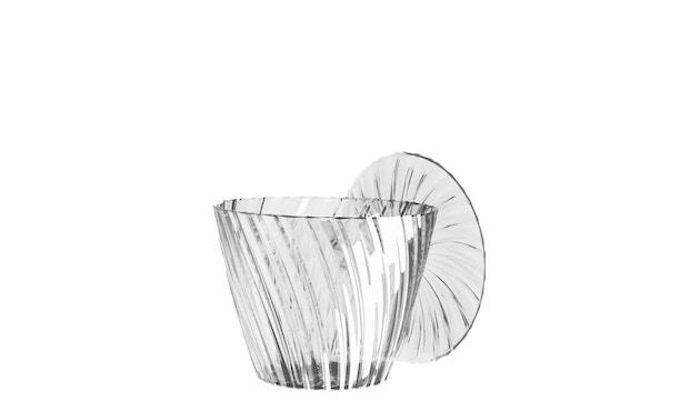 Kartell - Sparkle bijzettafel - glashelder - 2