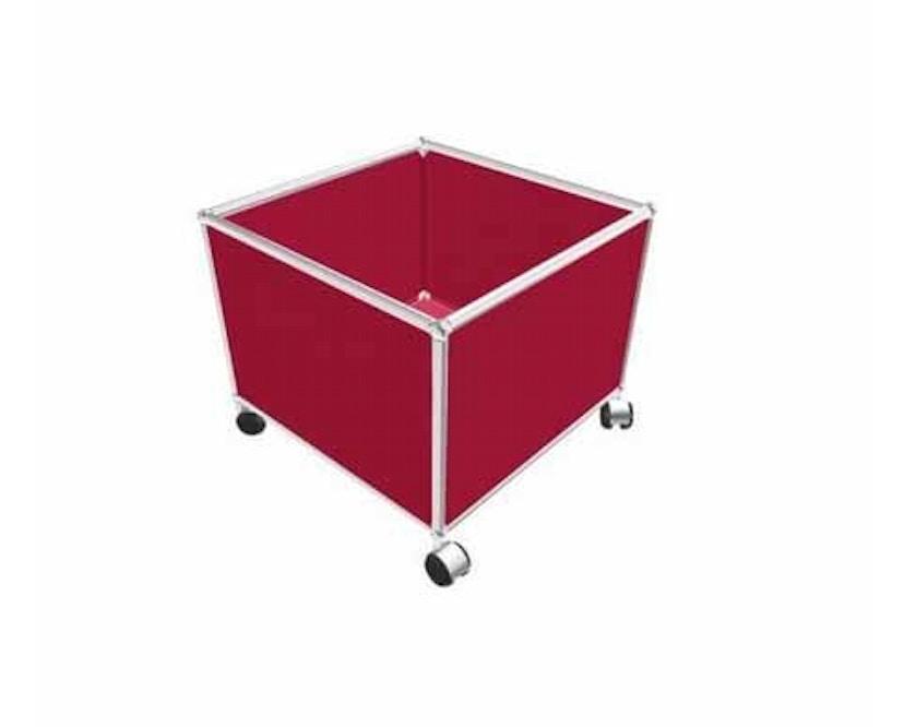 USM Haller - Coffre à jouets - 23 rouge rubis - 1