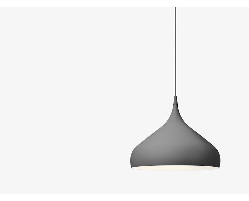 andTRADITION - Spinning Pendant BH2 - Hanglamp - mat grijs - 7