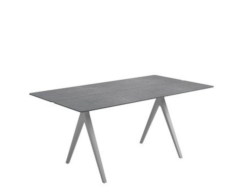 Gloster - Split keramiek-tafel - 170 x 100 cm - wit - 1