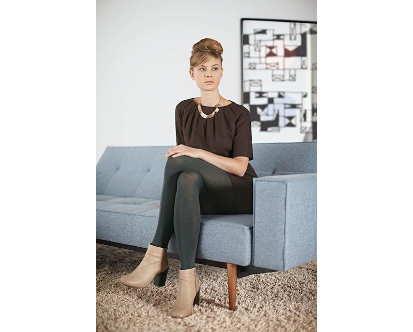 Innovation - Splitback Schlafsofa - Dess. 521 - grau - Beine Chrom - Gestell matt schwarz - 8