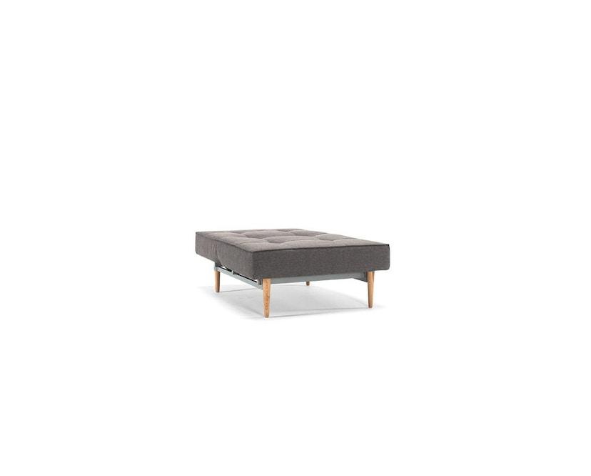 Innovation - Splitback Sessel - Dess. 216 - dunkelgrau - Beine Chrom - Gestell matt schwarz - 5