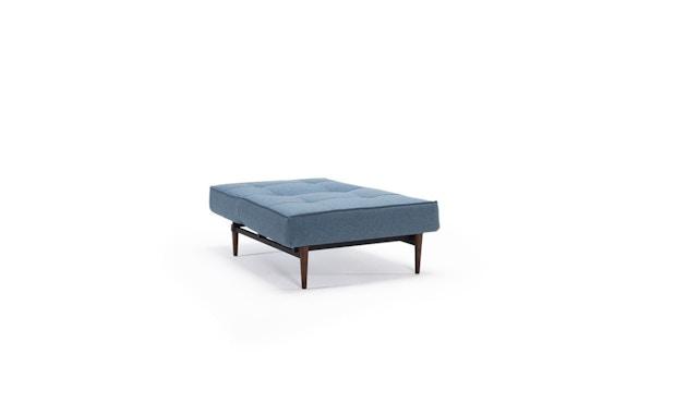 Innovation - Splitback Sessel - Dess. 525 - blaugrau - Beine Chrom - Gestell matt schwarz - 5