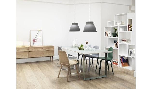 Muuto - Table 70/70 - blanc - Chêne - S - 6