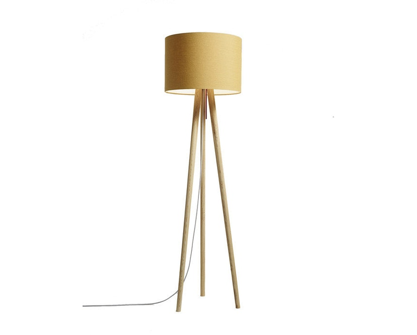 Domus - Sten Linum vloerlamp - Witte eik - karamel - 1