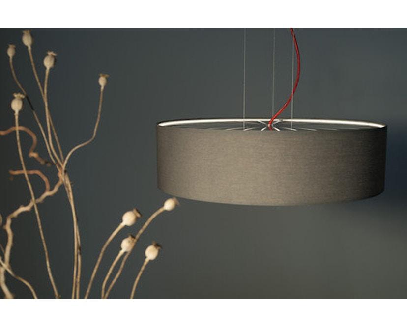Domus - Sten Linum Pendelleuchte - caramel - Textilkabel grau - 5