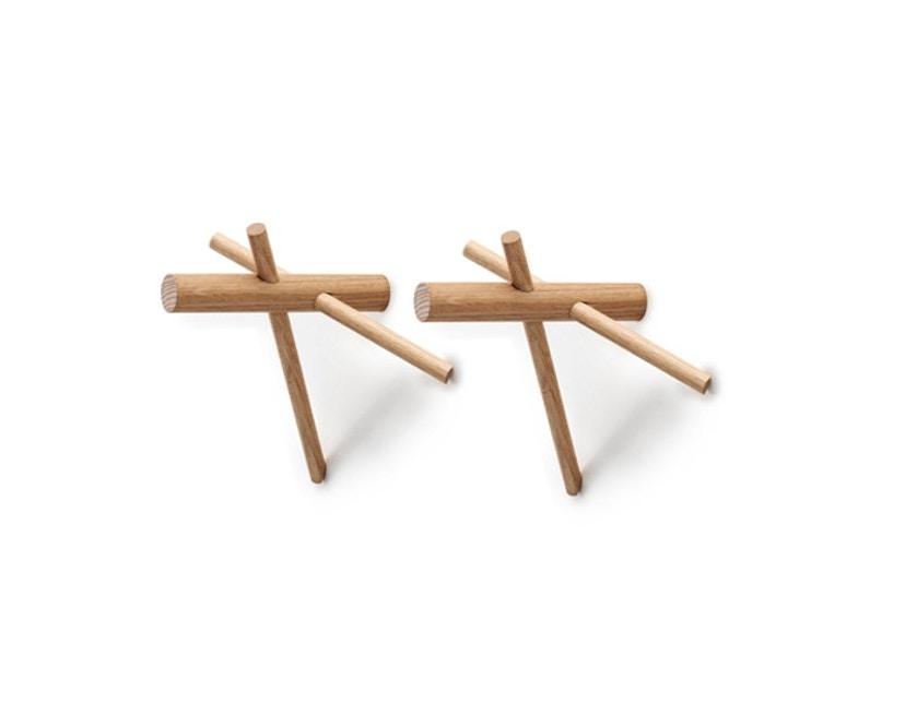 Normann Copenhagen - Sticks Haken - natur - 2stk - 1