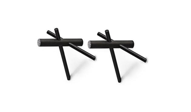 Normann Copenhagen - Sticks kledingkast - zwart - 1