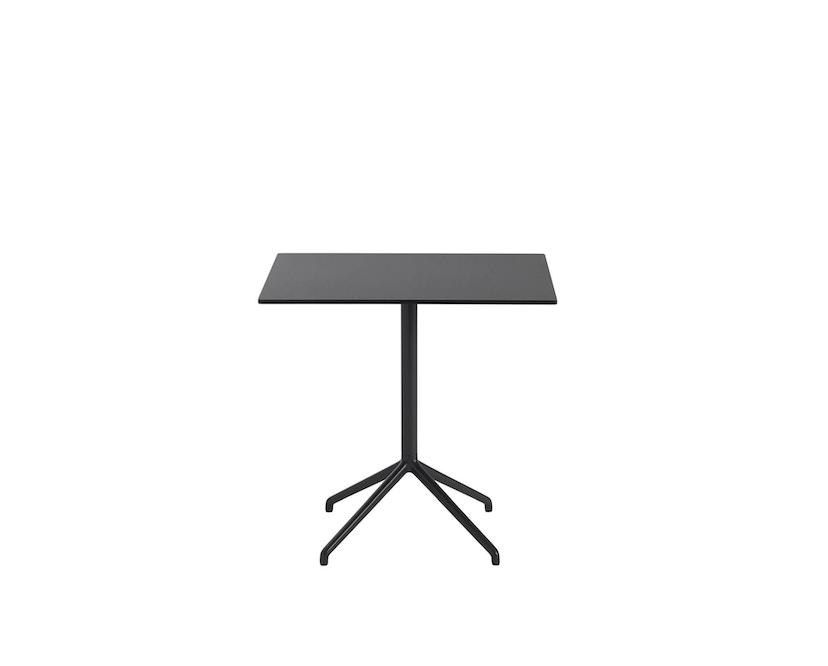 Muuto - Still Cafe Tafel rechthoekig - S - zwart/zwart - 1