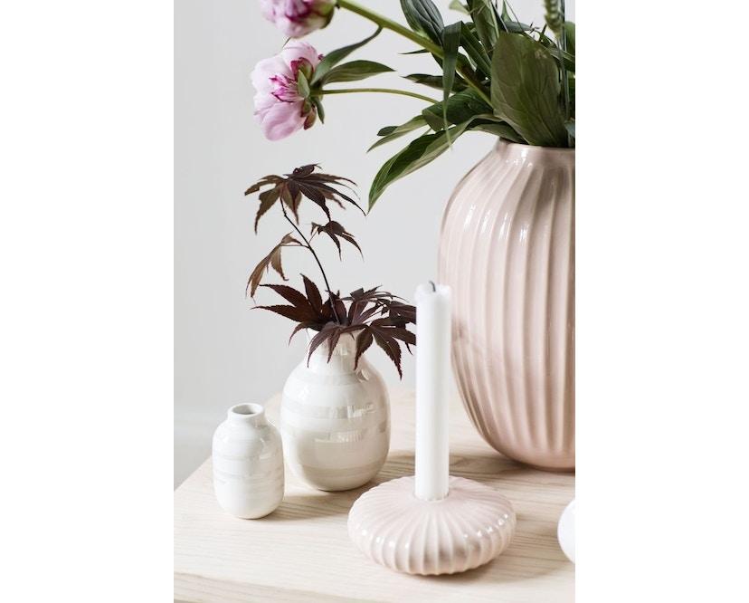Kähler Design -  Hammershøi Vase - Höhe 10 cm - Rose - 6
