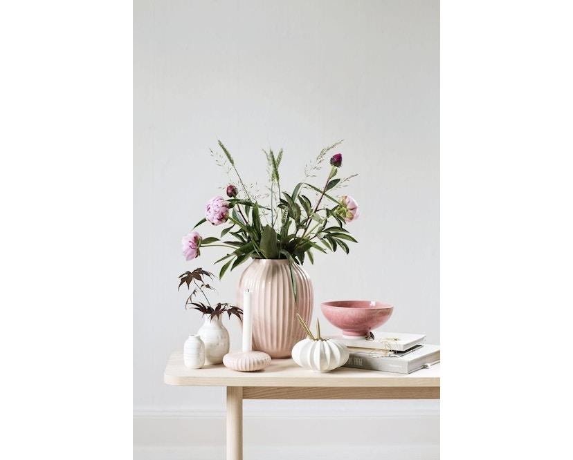 Kähler Design -  Hammershøi Vase - Höhe 10 cm - Rose - 7