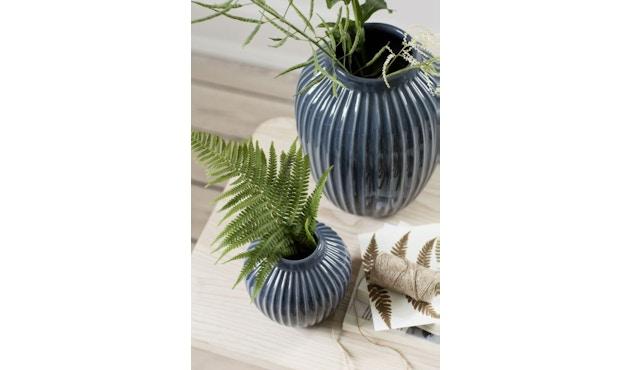 Kähler Design -  Hammershøi Vase - Höhe 10 cm - Anthracite - 14