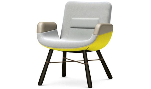 Vitra - East River Chair Sessel - light, Esche dunkel - 1