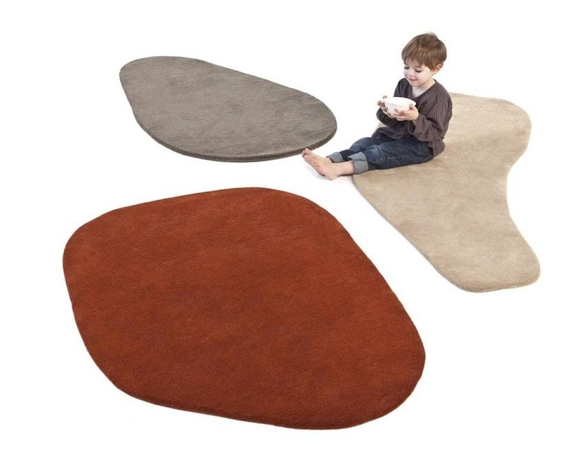 Nanimarquina - Stone wool Teppich - Stone 3 - 75 x 180 - 3