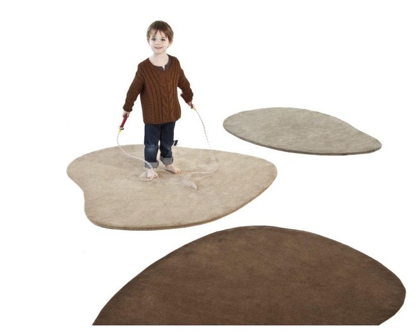 Nanimarquina - Stone wool Teppich - Stone 3 - 75 x 180 - 4