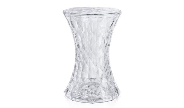 Kartell - Stone Hocker - glasklar - 1