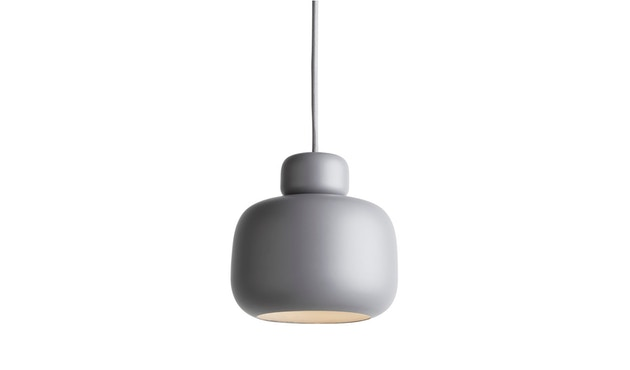 Woud - Stone Pendelleuchte - Grey - S - 1