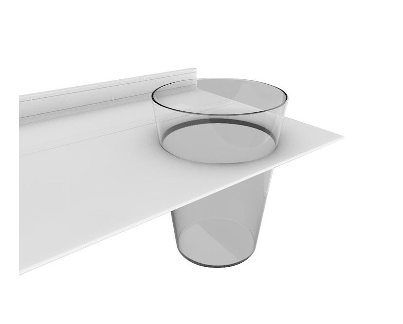 Strackk - Vase Wandregal - schwarz - 110 cm - 7