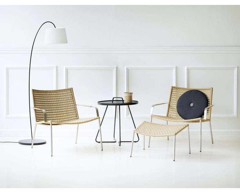Straw Indoor Loungesessel
