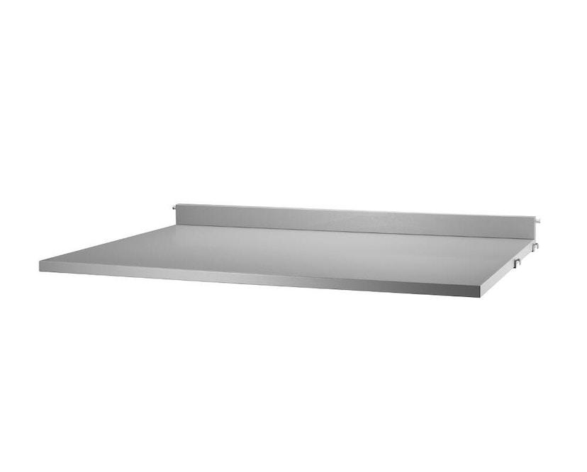 String - Schreibtischplatte - grau - 1