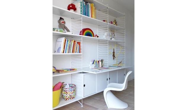 String - Schreibtischplatte - weiß - 2