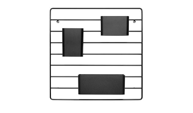 String - Wandorganizer - schwarz - 2
