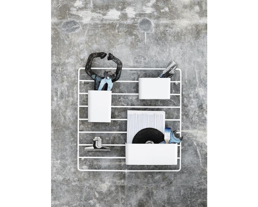 String - Rangement mural - blanc - 1