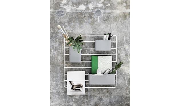 String - Rangement mural - blanc - 2