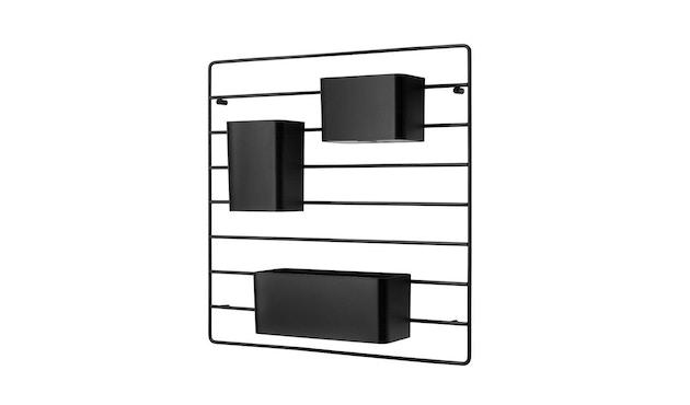 String - Organizer Boxen - schwarz - 2