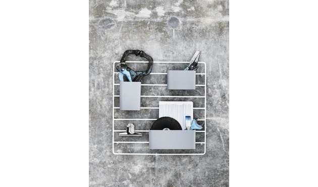 String - Organizer Boxen - weiß - 2