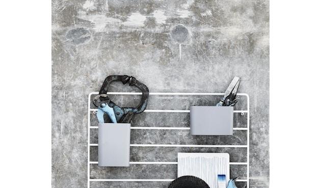 String - Organizer Boxen - weiß - 3