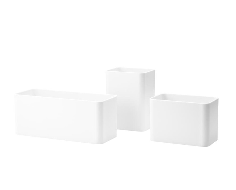 String - Organizer Boxen - weiß - 0