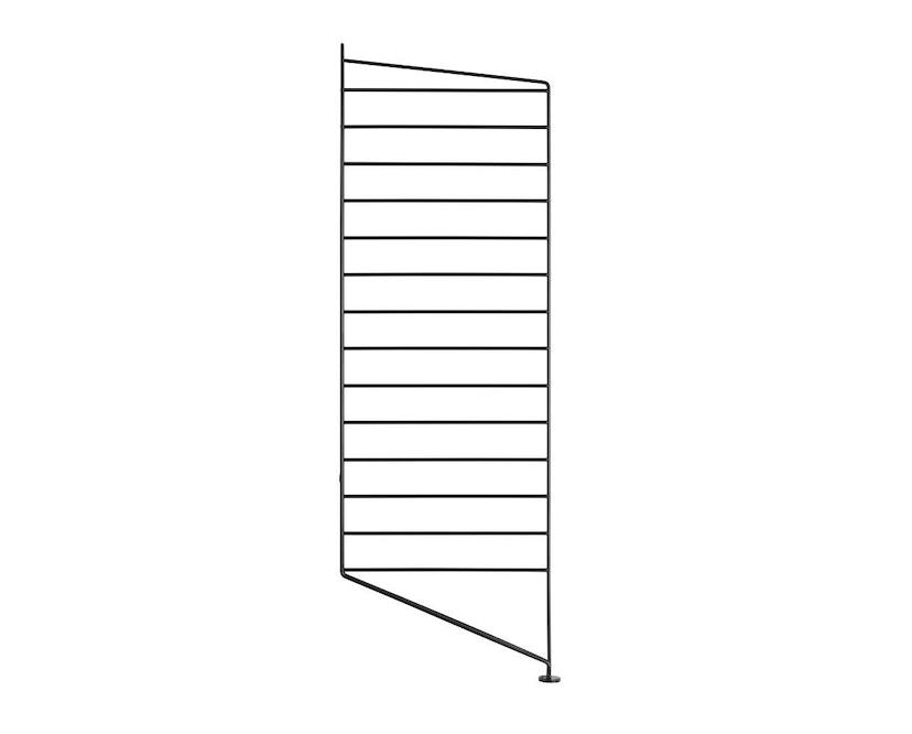 String - Regal Bodenleiter - schwarz - einzeln, 85 x 30 cm - 1