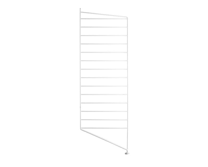 String - Regal Bodenleiter - weiß - einzeln, 85 x 30 cm - 1