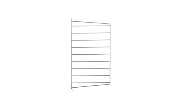 String - Regal Wandleiter - weiß - 2er Set, 75 x 20 cm - grijs - 50 x 30 cm - afzonderlijk - 1