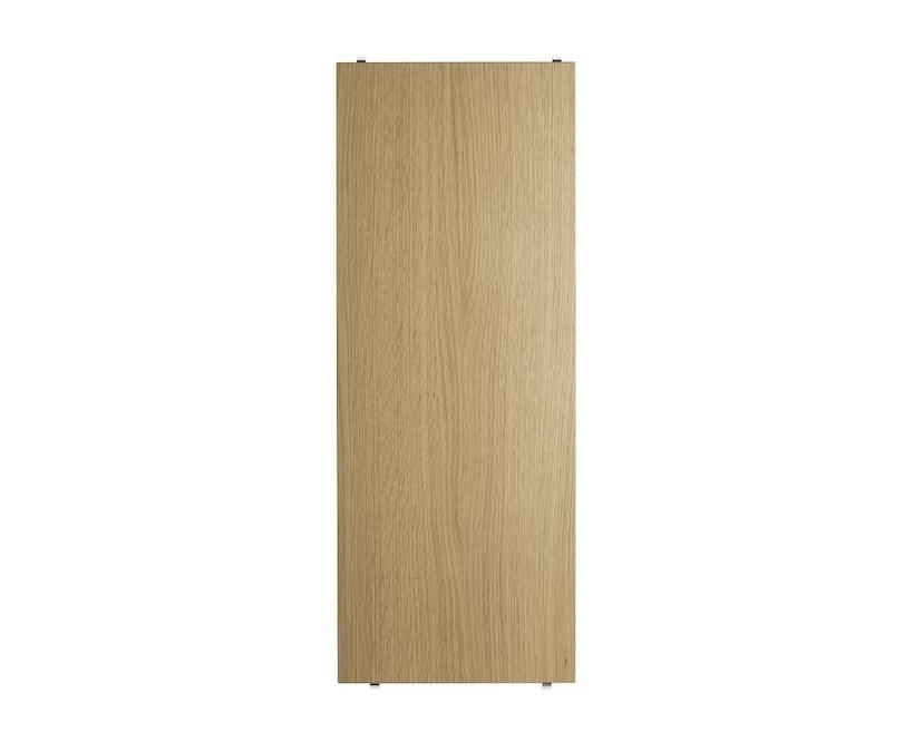 String - Regalböden 3er Set - weiß - 58 x 30 cm - 58 x 30 cm - Eiken - 1
