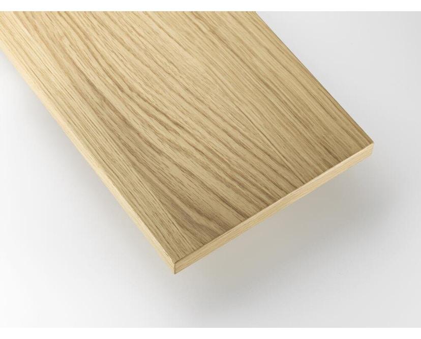 String - Regalböden 3er Set - weiß - 58 x 30 cm - Eiken - 78 x 30 cm - 2