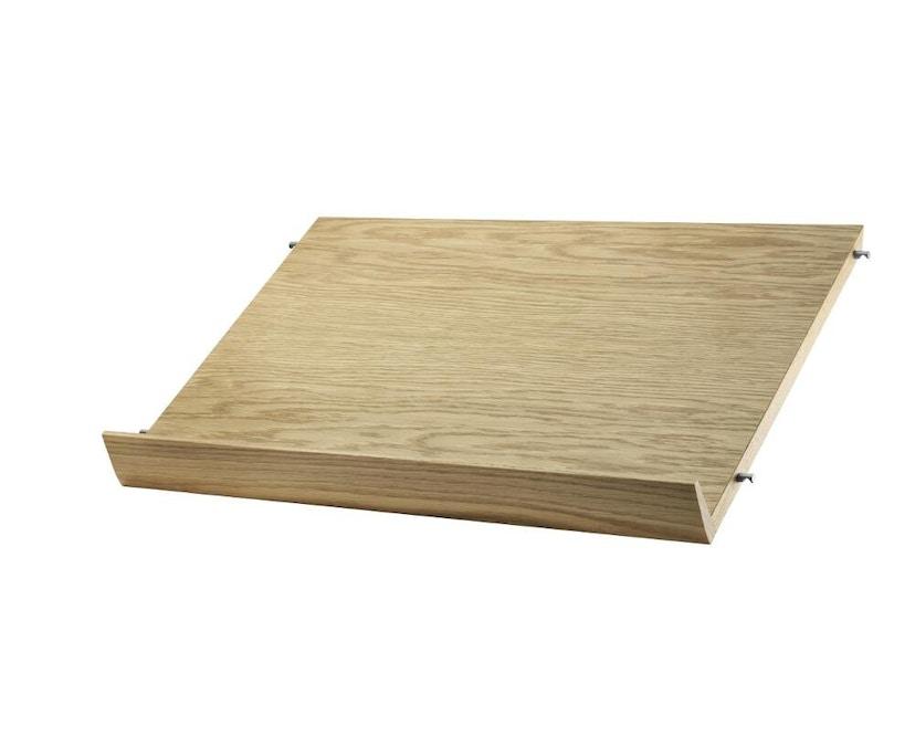 String - Zeitschriftenablage Holz - eiche - 58 x 30 cm - 0